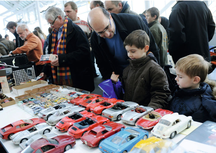 Modellauto-Börse im Audi Forum Ingolstadt