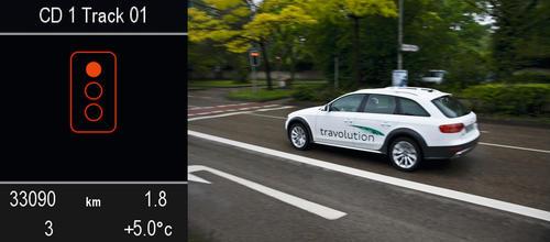 Effizientes Fahren in der Stadt – das Audi-Projekt travolution