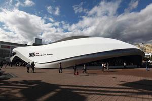 Audi: Partner der Frankfurter Buchmesse