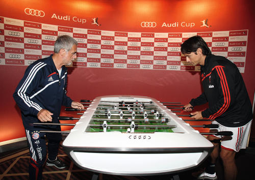 Audi Design soccer table - the prototype