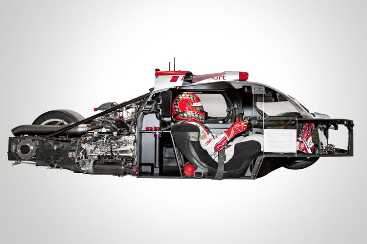 Audi sports prototypes: ultra-lightweight design in perfection