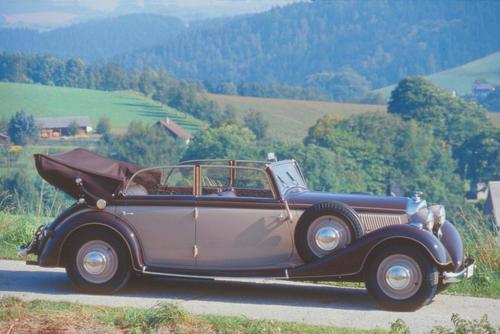 Horch 830 BL Sedan-Cabriolet mit V-8-Motor
