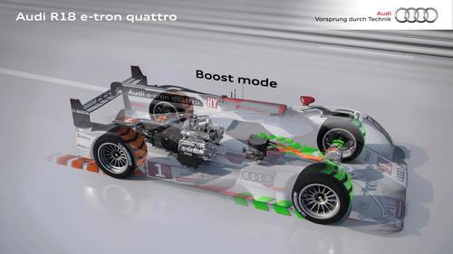 R18 e-tron quattro Boost E