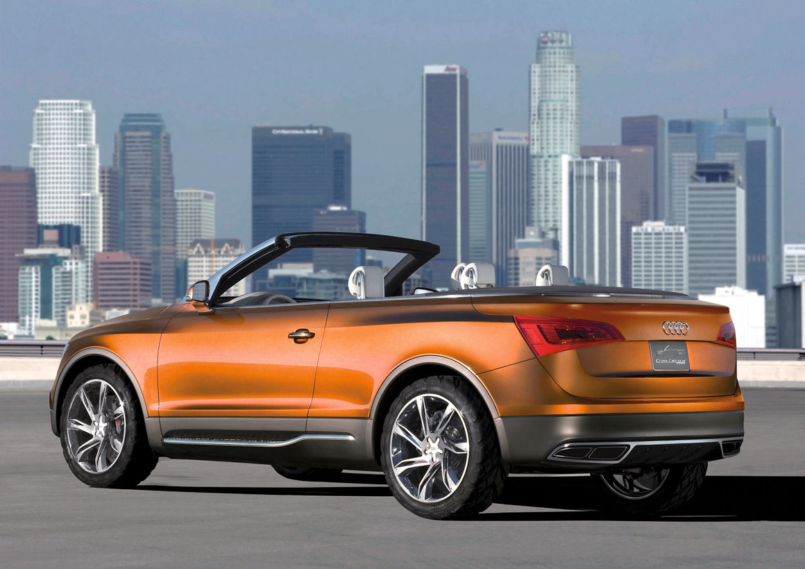 Audi Cross Cabriolet quattro: Static photo
