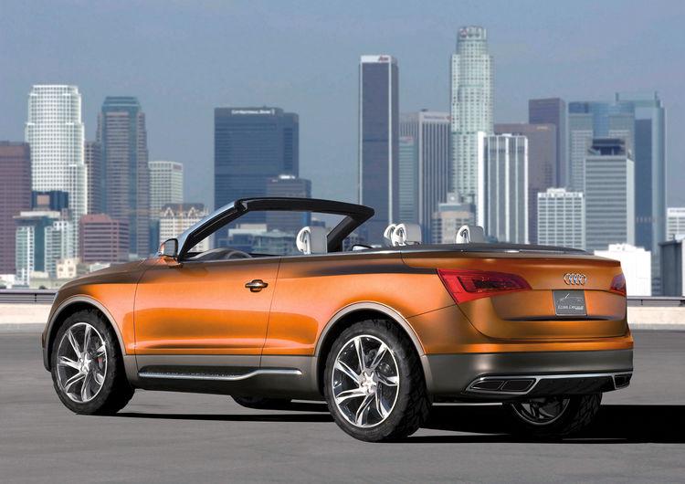 Audi Cross Cabriolet quattro: Standaufnahme