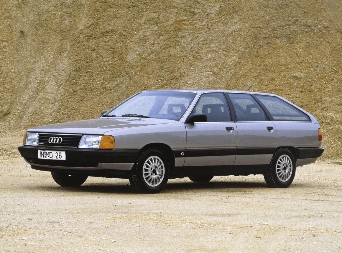 Audi 100 Avant quattro | Audi MediaCenter