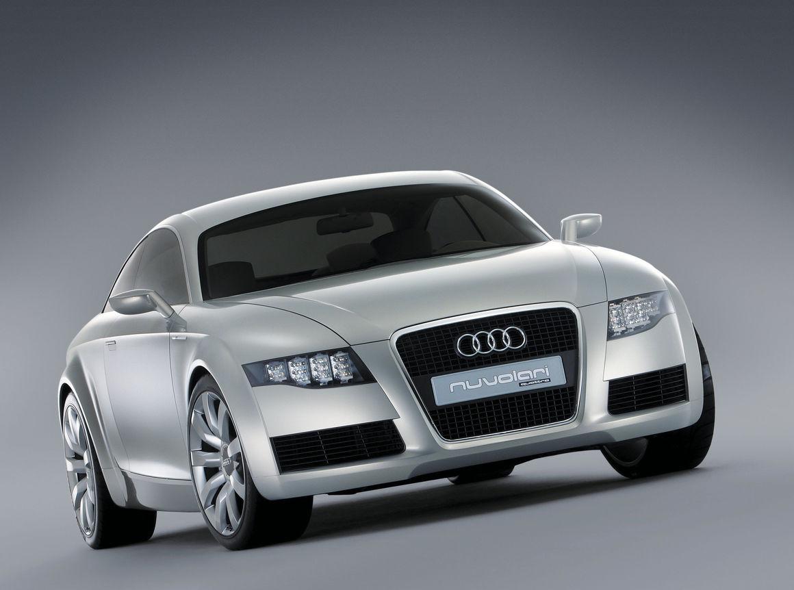 Audi Nuvolari quattro, eine Vision zur Fahrzeuggattung der sportlichen GTs (Gran Turismo)