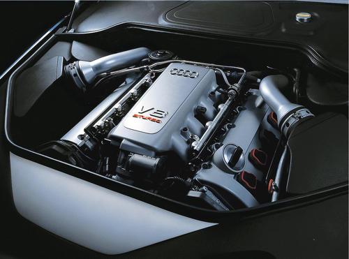 Audi Avantissimo - 4.2 Liter-V8 Biturbo Motor