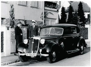 Horch Type 930 V, 1938 with 3.8 litre V8-cylinder engine
