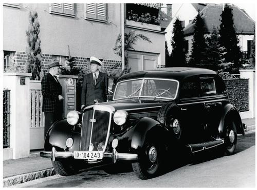 Horch Typ 930 V, 1938 mit 3,8 Liter-V8-Motor