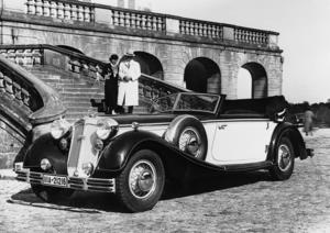 Horch 853 Sport Cabriolet, 5 l, 8 Zylinder (Reihe), 120 PS