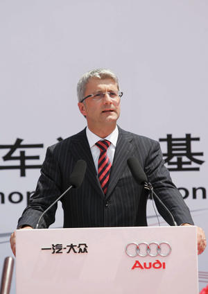 Audi 20 Jahre in China