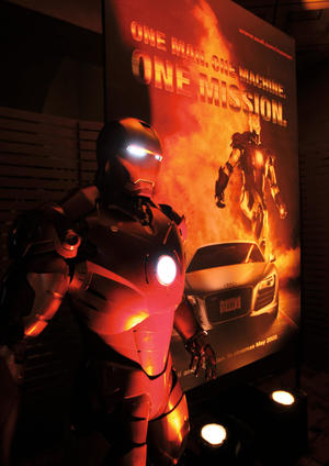 """Iron Man"" premiere in Los Angeles and Audi after party at the Roosevelt Hotel in Hollywood"