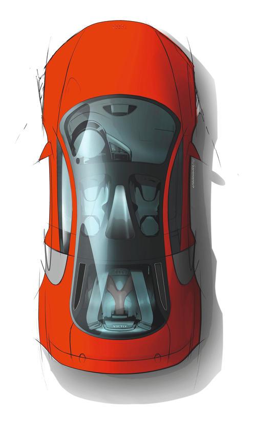 Audi R8 TDI Le Mans