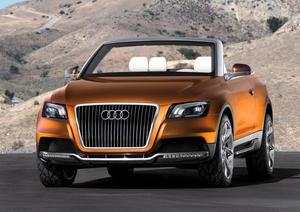 Audi Cross Cabriolet quattro: Static photo