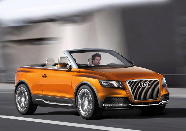 Audi Cross Cabriolet quattro: Fahraufnahme