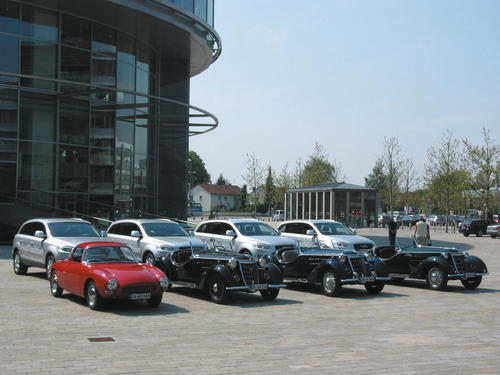 Mille Miglia Fahrzeug Flotte