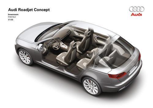 Audi Roadjet Concept - Interior