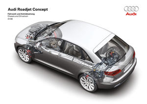 Audi Roadjet Concept - Chassis and drivetrain