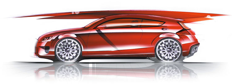 Audi Shooting Brake Concept - Design