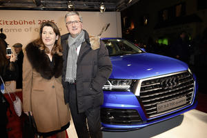 Audi Night at the 75th Hahnenkamm Race in Kitzbühel