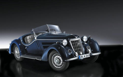 The Wanderer W 25 K, a six-cylinder roadster dating from 1936