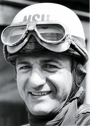H.P. Müller 1955: motorcycle world champion in the 250 cc class for NSU