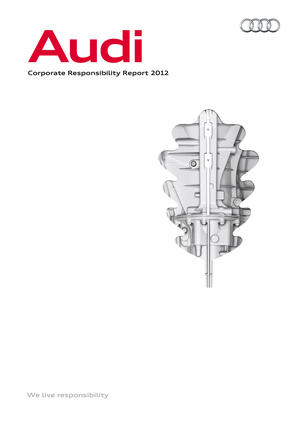 Audi publishes its first Corporate Responsibility Report