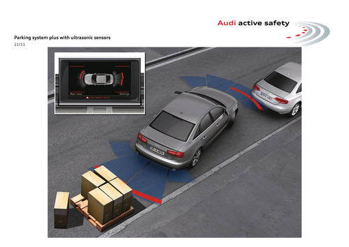 Audi active safety