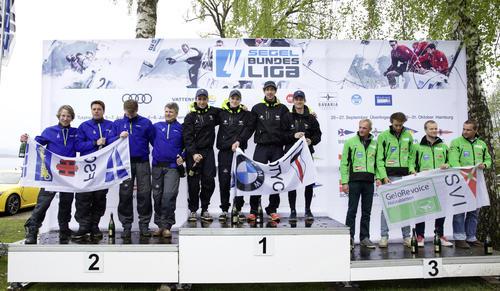 Auftakt der Segel-Bundesliga auf dem Starnberger See: die ersten Sieger