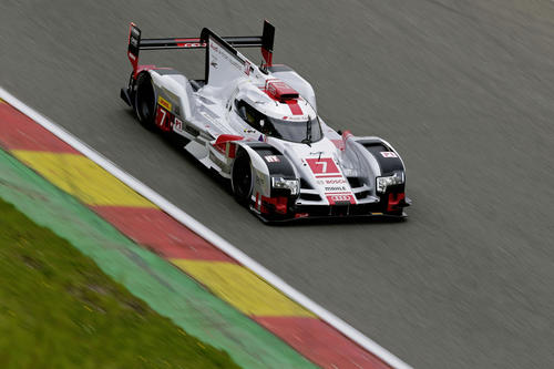 Audi im Qualifying in Spa in Startreihe zwei