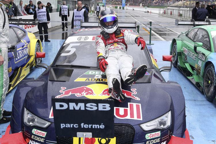Dreifachführung für Audi in der DTM