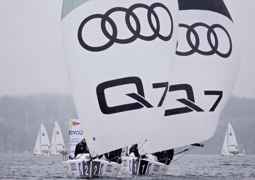 Auftakt der Segel-Bundesliga auf dem Starnberger See