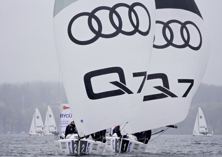 Audi has started 2015 sailing season