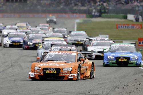 Audi startet mit Sieg in die neue DTM-Saison