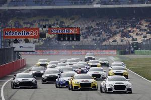 Audi Sport TT Cup feiert gelungene Weltpremiere in Hockenheim