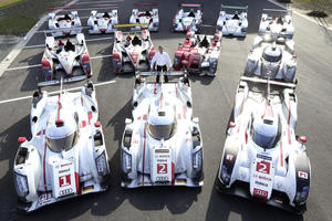 Audi-Siegerautos in Le Mans (2000-2014)