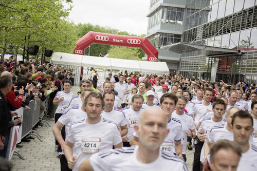 24 Stunden Laufspektakel bei Audi in Ingolstadt