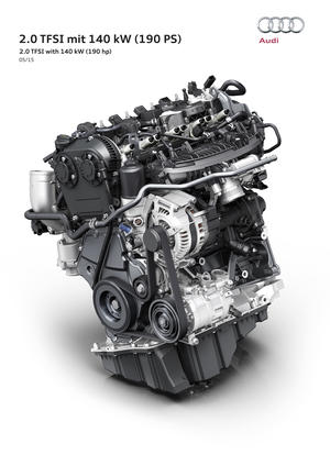 World premiere at the Vienna Motor Symposium: new high-efficiency engine from Audi