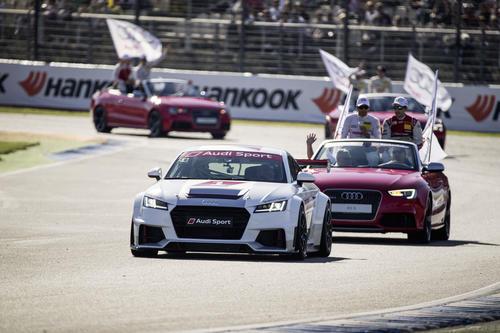 Qual der Wahl im Audi Sport TT Cup