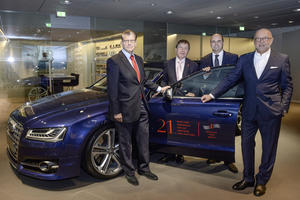 Audi intensifies corporate citizenship efforts in Berlin