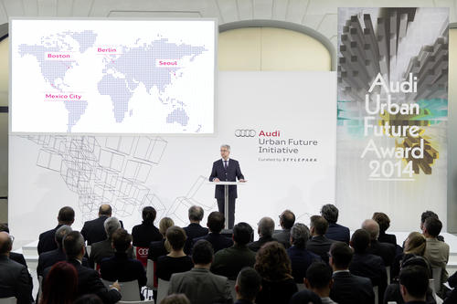 "More space and better quality of life in cities: Audi introduces the ""Urban Agenda"""