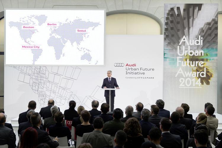 """Mehr Raum und Lebensqualität in der Stadt: Audi stellt """"Urbane Agenda"""" vor"""