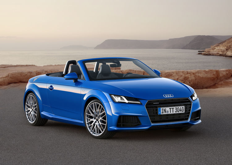 The New Audi TT Roadster And The Audi TTS Roadster Audi MediaCenter - Audi tt convertible