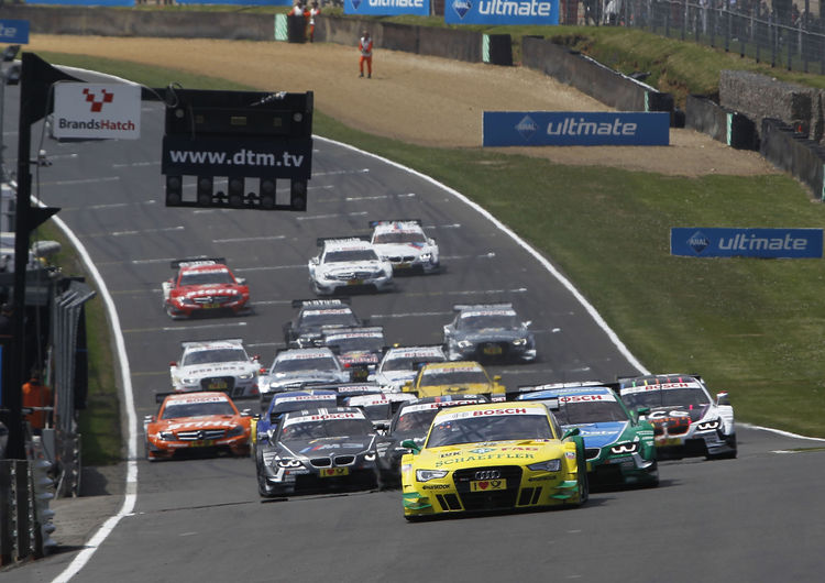 Audi ends BMW string of victories in the DTM