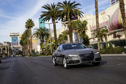 Long-distance test drive successfully completed:  Audi A7 Sportback piloted driving concept arrives in Las Vegas following 560 mile drive
