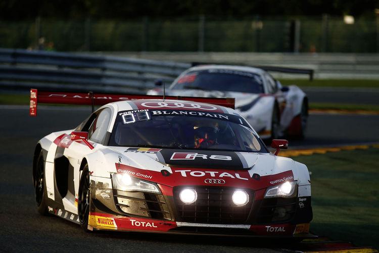 Dritter Audi-Sieg bei den 24 Stunden von Spa