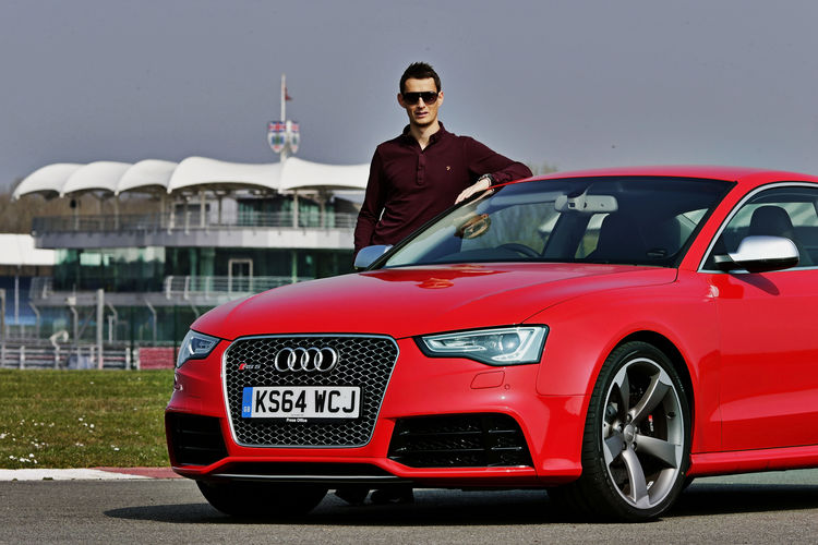 Audi race drivers and RS models