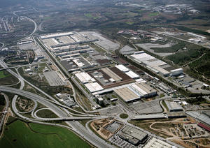 Audi produces Audi Q3 in Martorell, Spain.