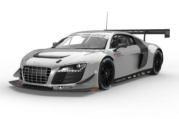 Fünf Audi-Teams vertrauen bei den 24h Nürburgring auf den R8 LMS ultra